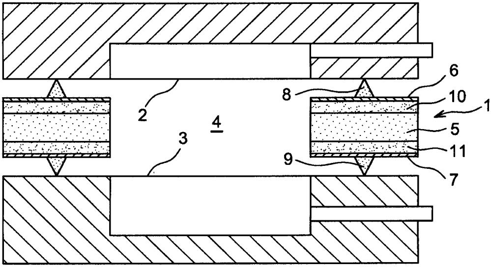 Металлическая уплотнительная прокладка с керамическим сердечником