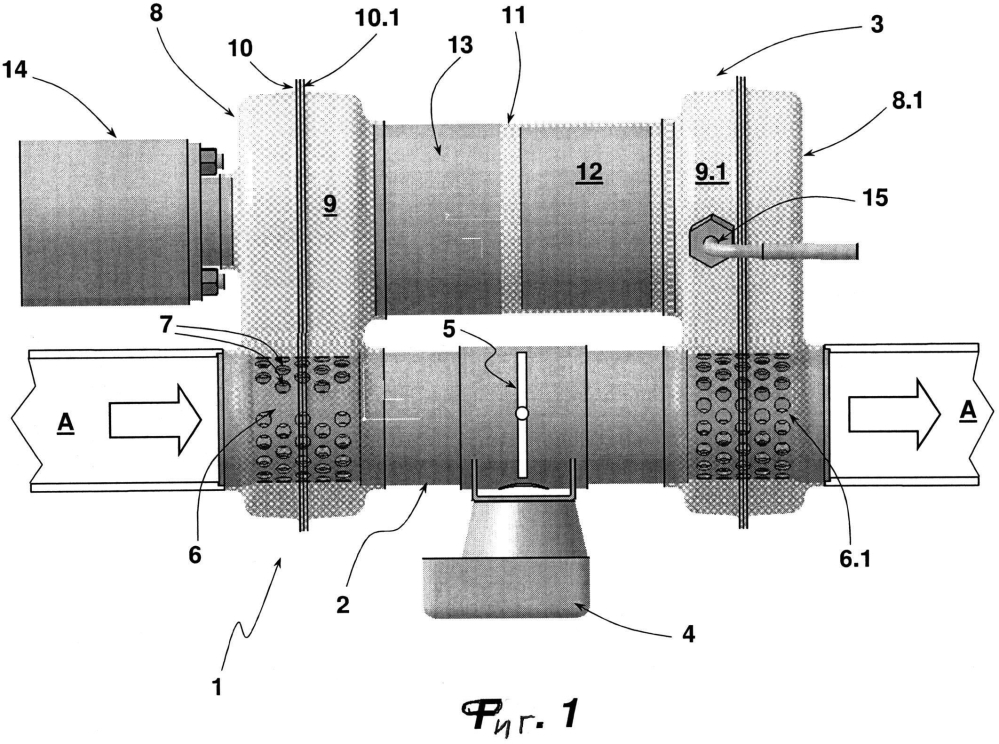 Нагревательный модуль для системы нейтрализации выхлопных газов