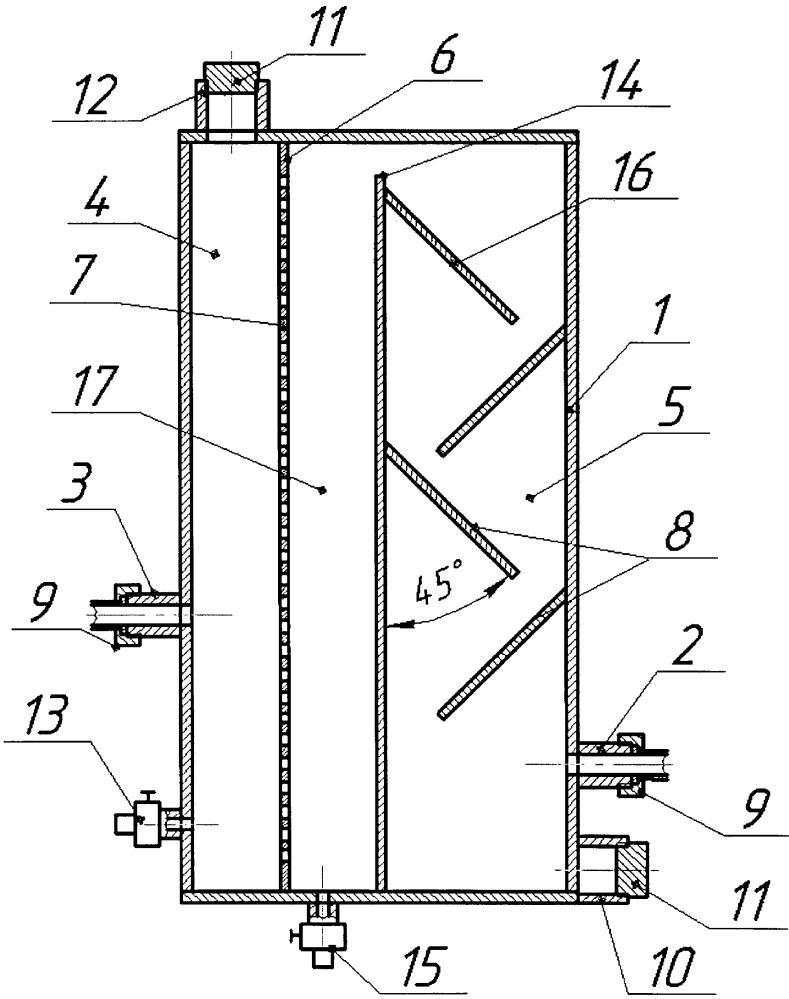 Фильтр для очистки технологической жидкости при промывке или глушении скважин