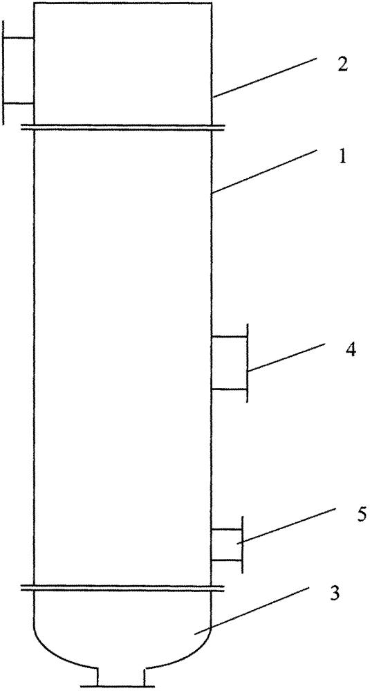 Вертикальный кожухотрубчатый теплообменный аппарат с конденсацией паров в межтрубном пространстве