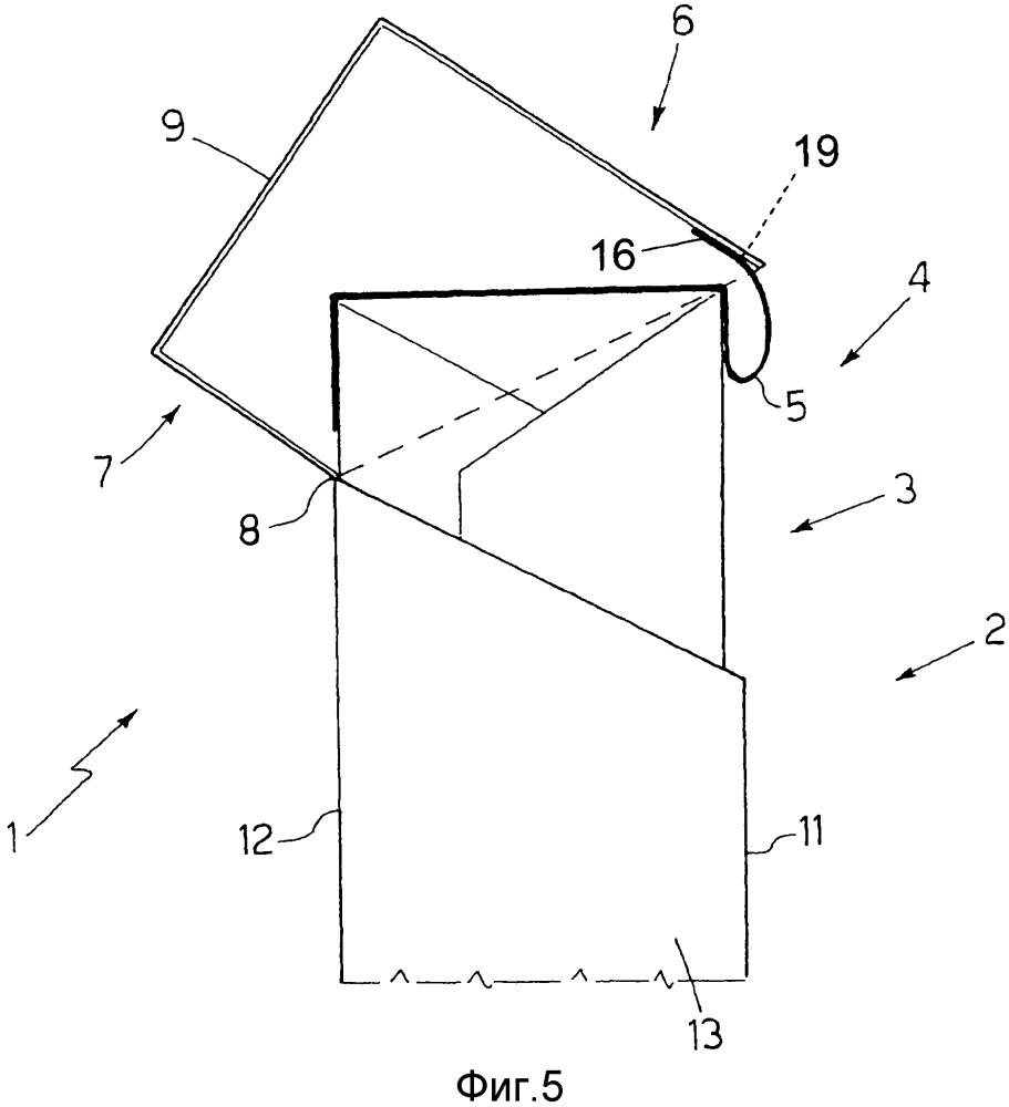 Упаковка табачных изделий с внутренней упаковкой, снабженная запечатывающим клапаном, прикрепленным к шарнирной крышке