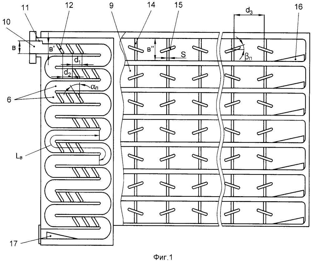 Антенная решетка с частотным сканированием