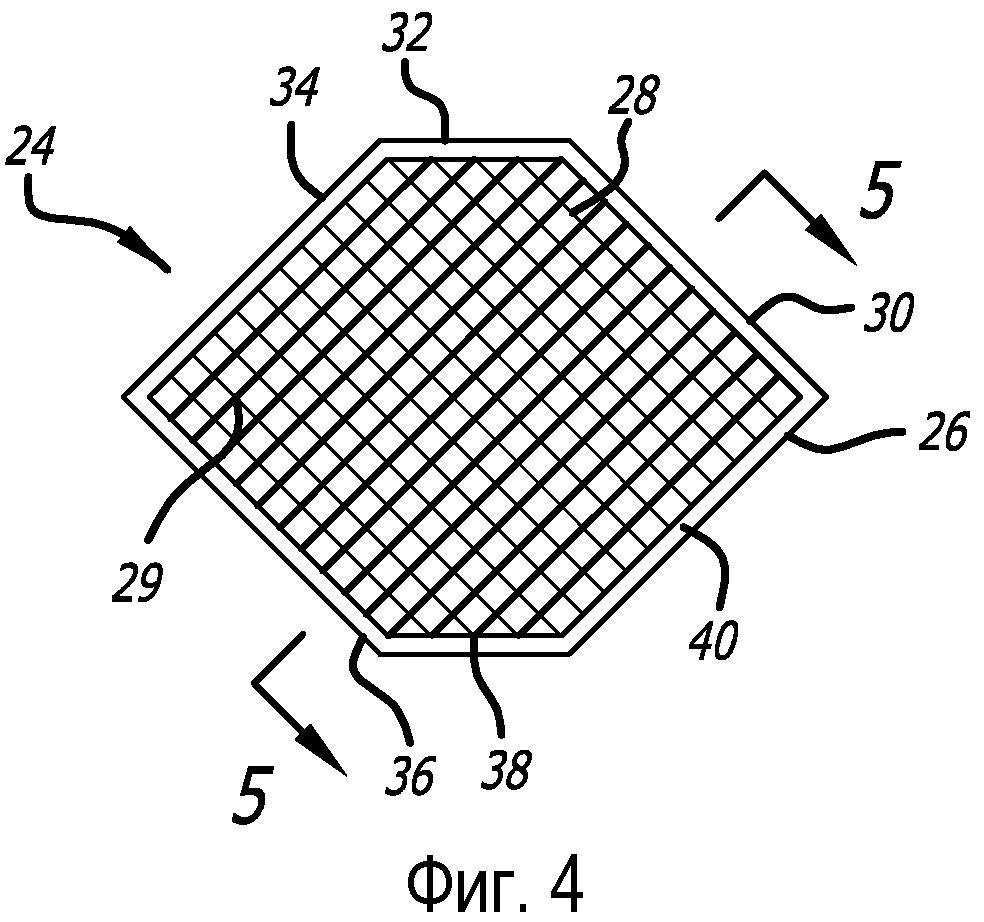 Закрепление мембран в звукопоглощающей сотовой конструкции