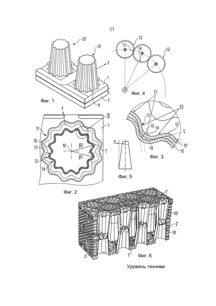 Поверхностный модуль инфильтрационного блока