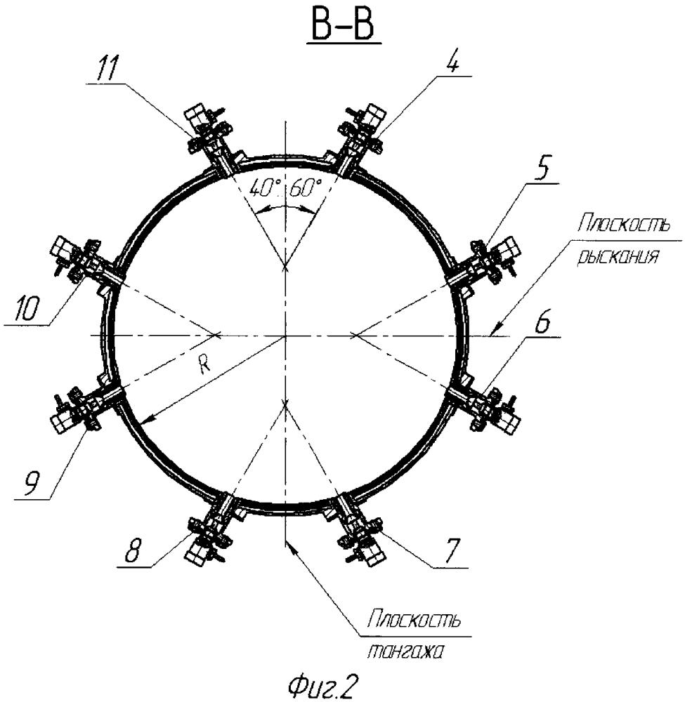 Система управления вектором тяги жидкостного ракетного двигателя