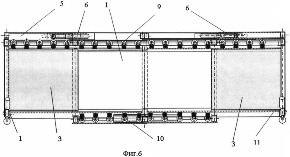 Быстроизвлекаемый трансформируемый модуль фортификационного сооружения контейнерного типа