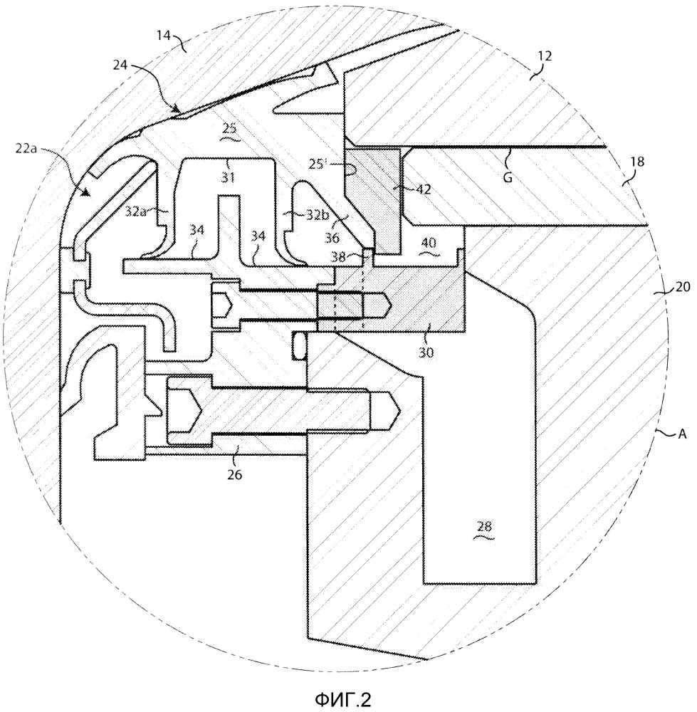 Насадочное уплотнение для гидростатического подшипника прокатного стана с расположенными на расстоянии друг от друга лопастями для движения масла, приходящего из опорной втулки и вкладыша подшипника