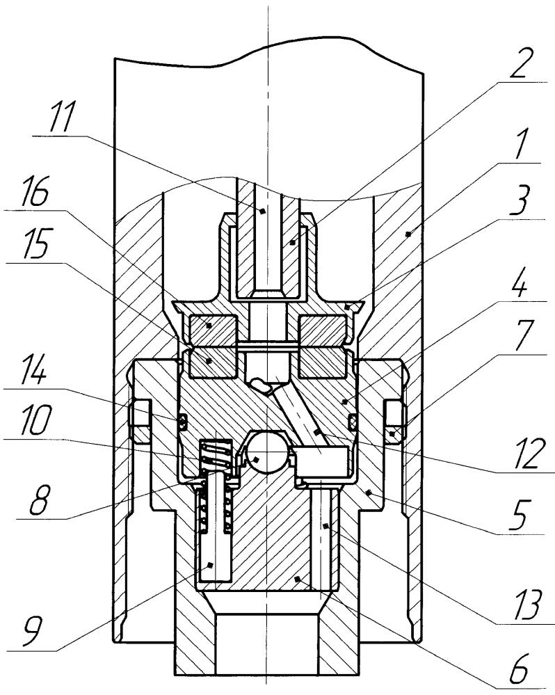 Осевая опора вала погружного электродвигателя