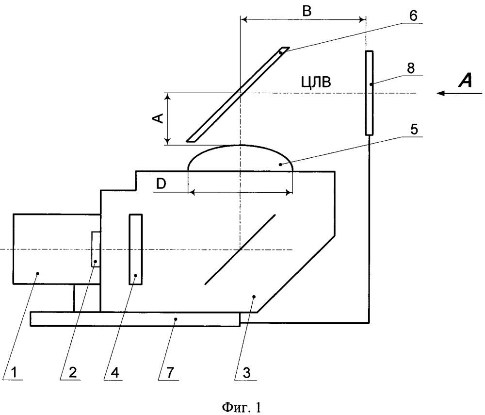 Двухканальный индикатор на лобовом стекле