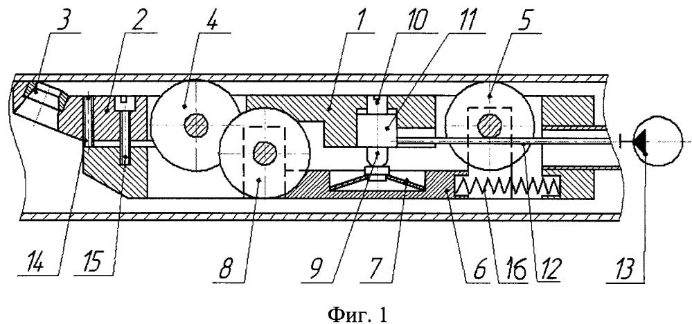 Резцовая головка для удаления внутреннего грата в электросварных трубах