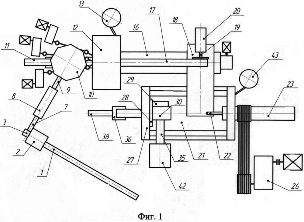 Устройство для изготовления цилиндрических заготовок формы стакан