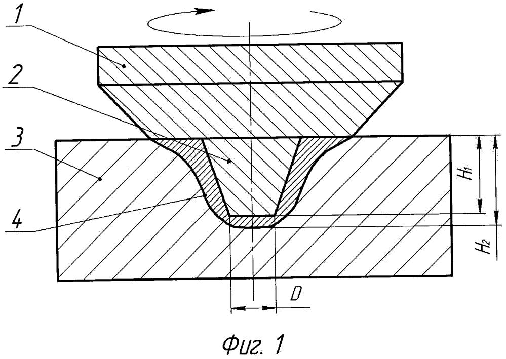 Способ упрочнения поверхности деталей обработкой трением с перемешиванием вращающимся инструментом