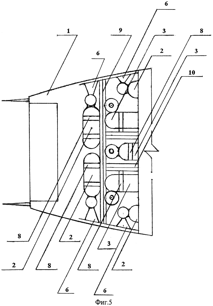 Газодинамическая система управления для гиперзвукового самолета