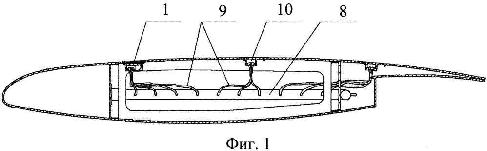 Устройство для управления пограничным слоем на аэродинамической поверхности летательного аппарата