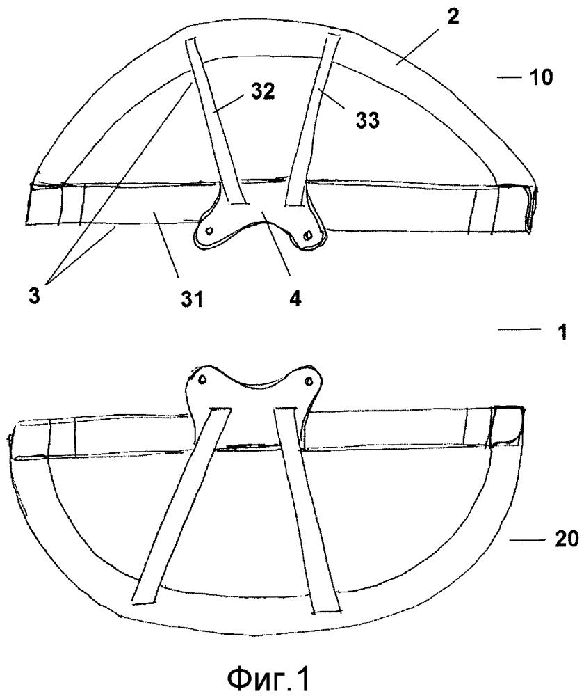 Шпангоут летательного аппарата из композиционного материала