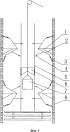 Способ и механическое устройство предотвращения отклонения направляющего каната
