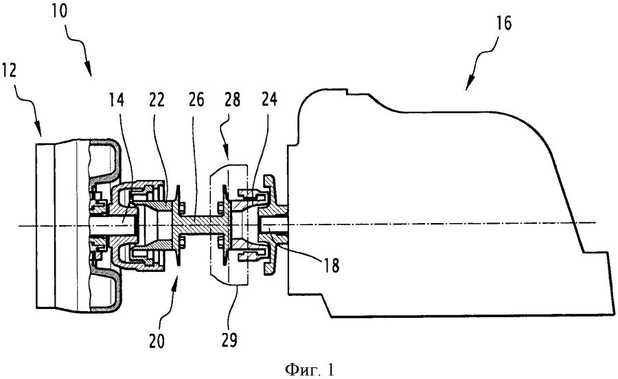 Приводное устройство, в частности, для железнодорожного транспортного средства, содержащее систему охлаждения