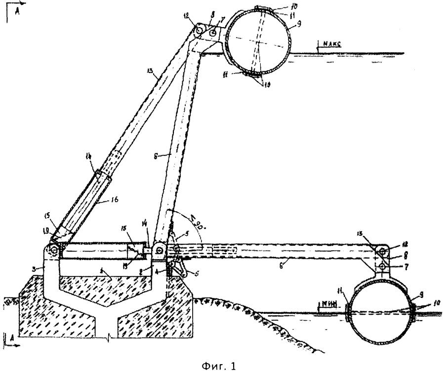 Автоматический водоподпор