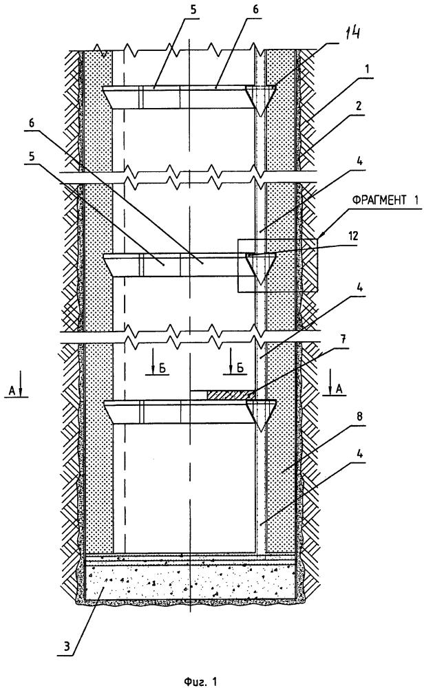 Инженерное сооружение для объектов подземной энергетики и подземных вертикальных участков транспортных систем