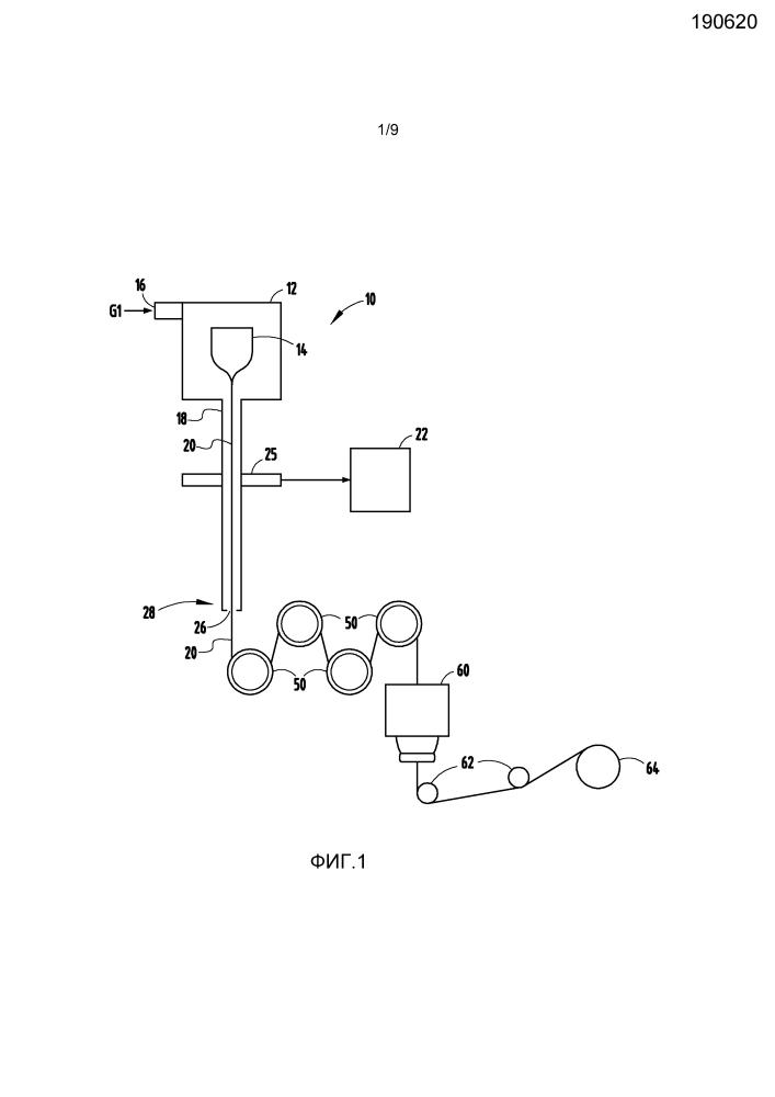Способ изготовления оптического волокна при пониженном давлении