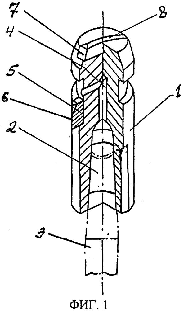 Инструмент для выполнения профильных надрезов в пробуренных шпурах