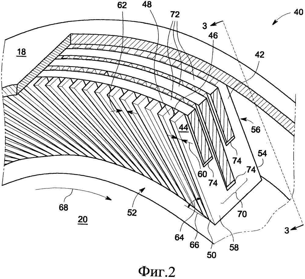 Уплотнительный узел и способ уплотнения газового тракта