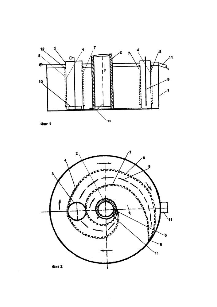 Электролизер экстракции индия из расплава конденсата на выпуске из вакуумной печи