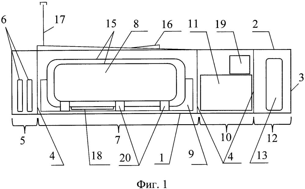 Топливозаправочный модуль для сжиженного газа
