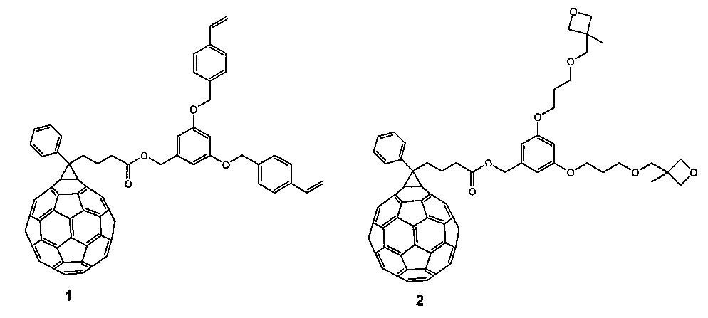 Двухкомпонентный электрон-селективный буферный слой и фотовольтаические ячейки на его основе