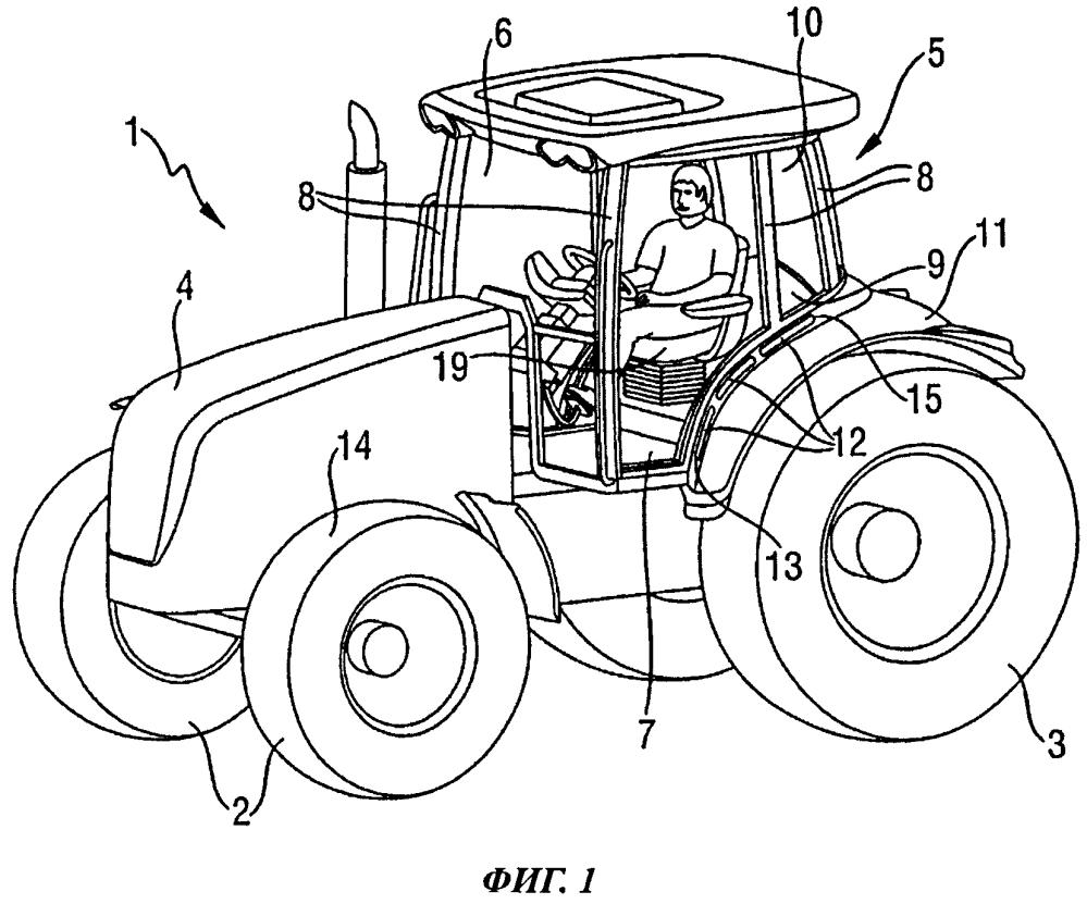 Сельскохозяйственное транспортное средство
