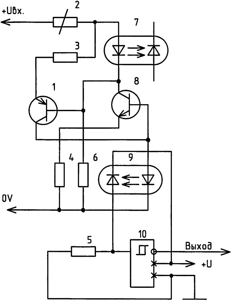 Гальванически изолированный компаратор напряжения с питанием от входного сигнала