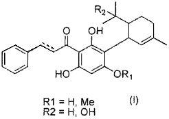 Монотерпеновые производные халькона или дигидрохалькона и их применение в качестве депигментирующих агентов