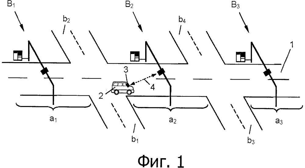 Способ дорожного сбора с транспортных средств в открытой системе платной дороги
