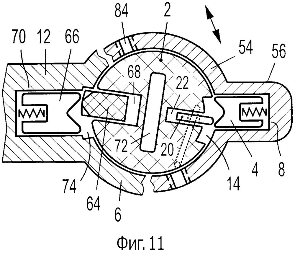 Цилиндровый механизм замка со свободным цилиндром
