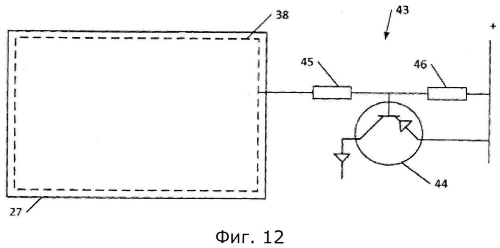 Система линейного привода со средством для детектирования возгорания