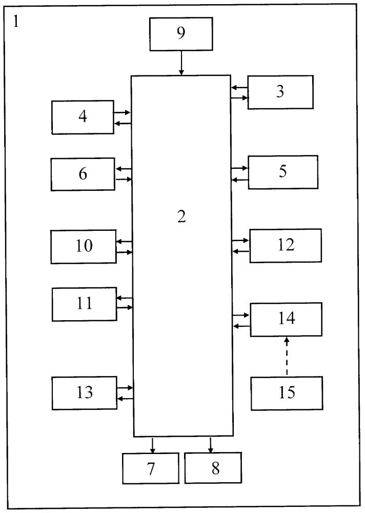 Модульный электронный конструктор