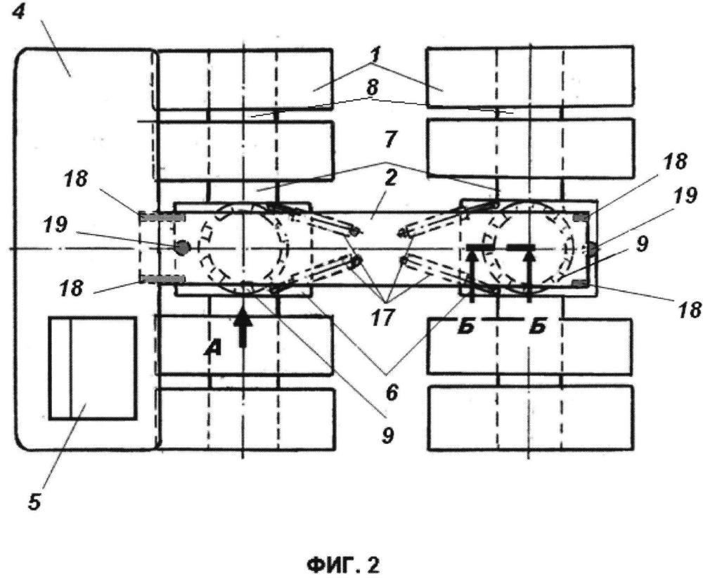 Компоновочная схема шасси грузового автомобиля