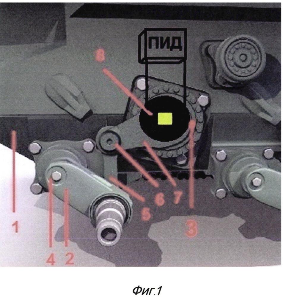 Подвеска объекта бронетанковой техники