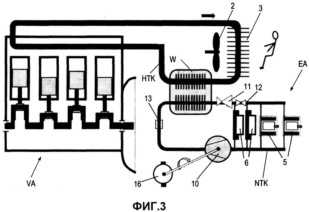 Система активного охлаждения электрических компонентов привода