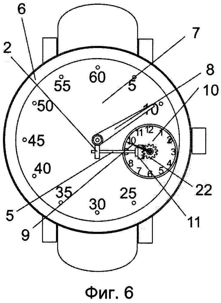 Часы с червячной передачей