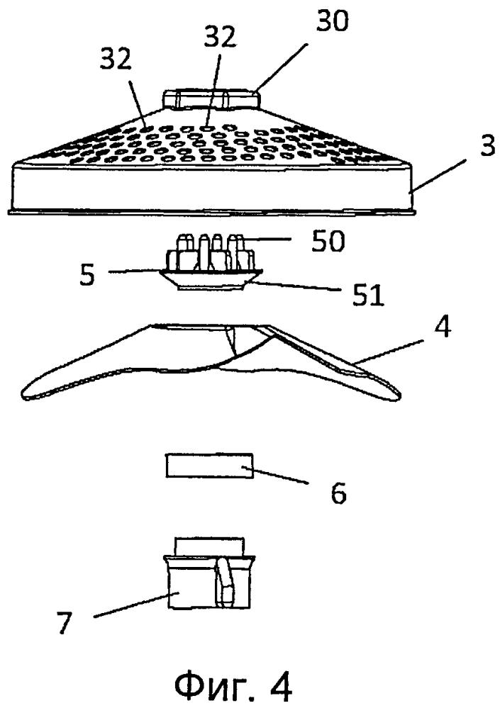 Решетка картофелемялки и кухонный электробытовой прибор, снабженный такой решеткой