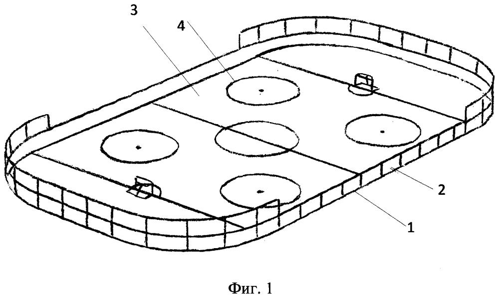 Настольная игра в хоккей