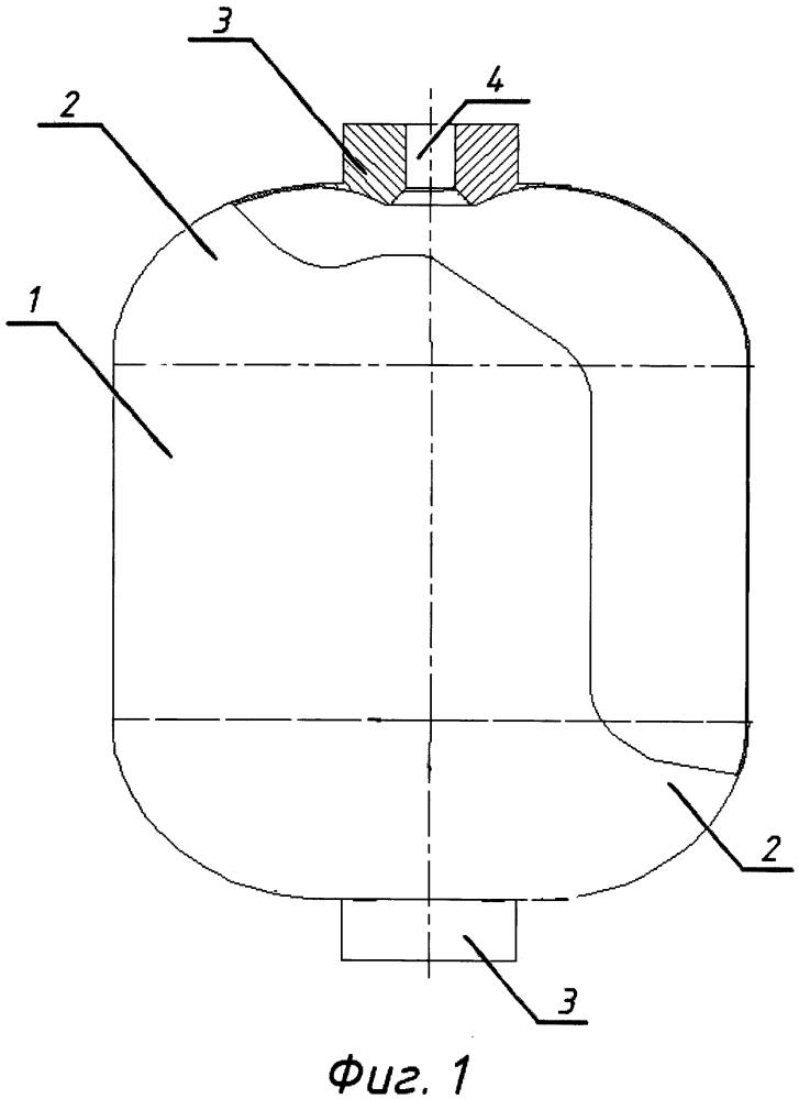 Способ изготовления тонкостенного бесшовного лейнера для композитных баков из титановых сплавов и лейнер, изготовленный этим способом