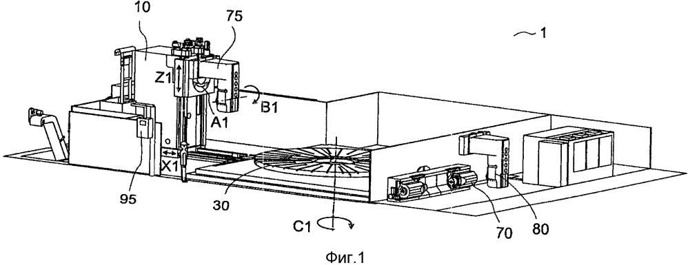 Станок, имеющий по меньшей мере два отдельных обрабатывающих узла, и способ обработки заготовок