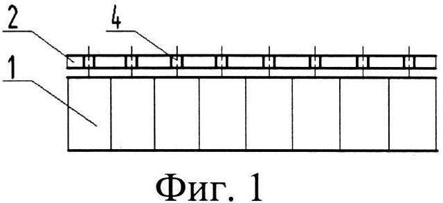 Способ образования галтелей клея на кромках ячеек сотового заполнителя