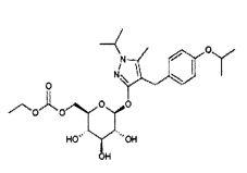 Комбинированная система доставки с немедленным/замедленным высвобождением для лекарственных средств с коротким периодом полувыведения, в том числе для ремоглифлозина