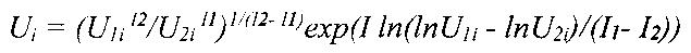 Способ определения величины наведенного напряжения на воздушной линии с двуцепными (многоцепными) опорами (варианты)