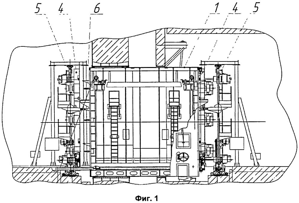 Устройство герметизации транспортных проемов транспортного шлюза локализующей системы безопасности атомной электростанции (варианты) и способ герметизации транспортных проемов транспортного шлюза локализующей системы безопасности атомной электростанции