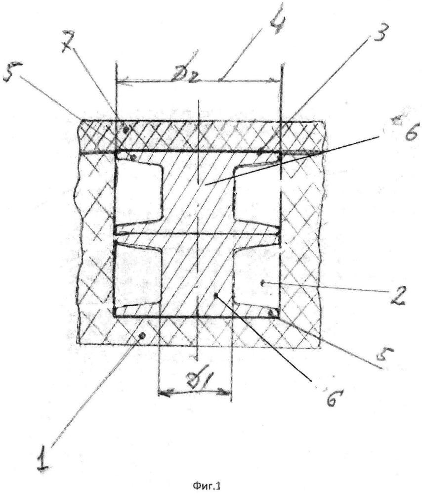 Способ изготовления вибро-звукоизолирующего устройства и вибро-звукоизолирующее устройство, получаемое по этому способу, а так же армирующий элемент, используемый в этом устройстве
