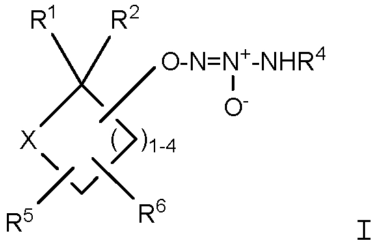 Гетероциклические производные первичных аминдиазениумдиолатов